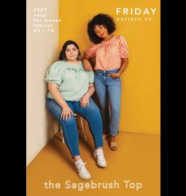 Friday Pattern Co The Sagebrush Top Pattern