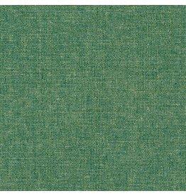 Robert Kaufman Essex Yarn Dyed Metallic Linen in Emerald