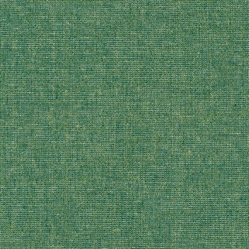 Robert Kaufman Essex Yarn Dyed Metallic Linen in Emerald