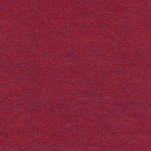 Studio e Peppered Cottons in Garnet