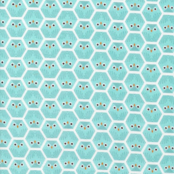 Robert Kaufman Organic Flannel in Owl