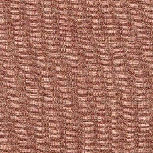 Robert Kaufman Essex Yarn Dyed Metallic Linen in Copper