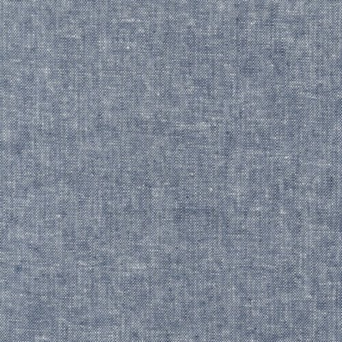 Robert Kaufman Essex Yarn Dyed Linen in Indigo