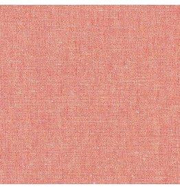 Robert Kaufman Essex Yarn Dyed Metallic Linen in Dusty Rose