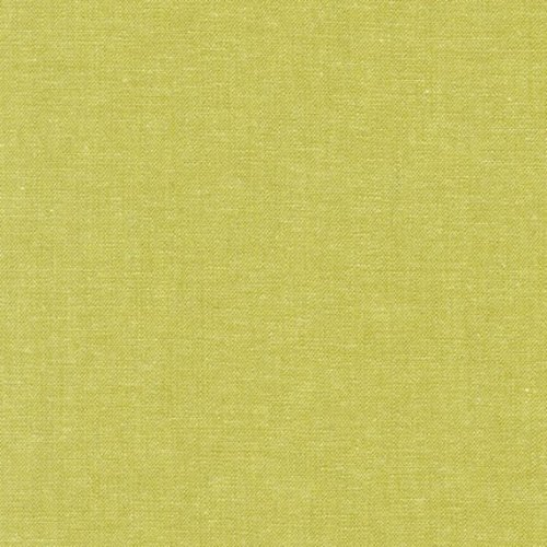 Robert Kaufman Essex Yarn Dyed Linen in Pickle