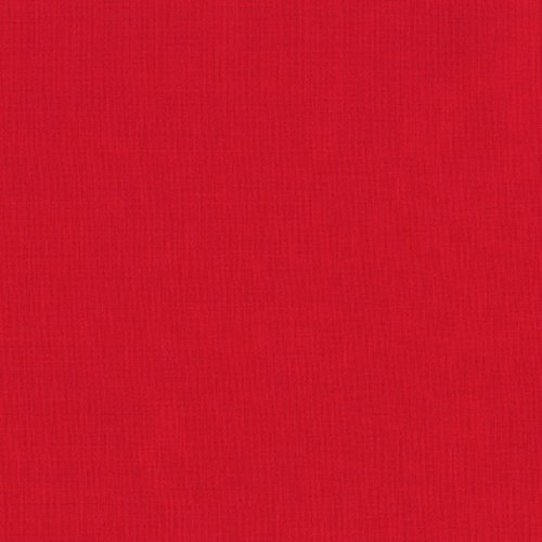 Robert Kaufman Kona Cotton Red