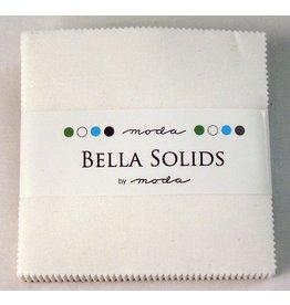 Moda Bella Solids Charm Pack White