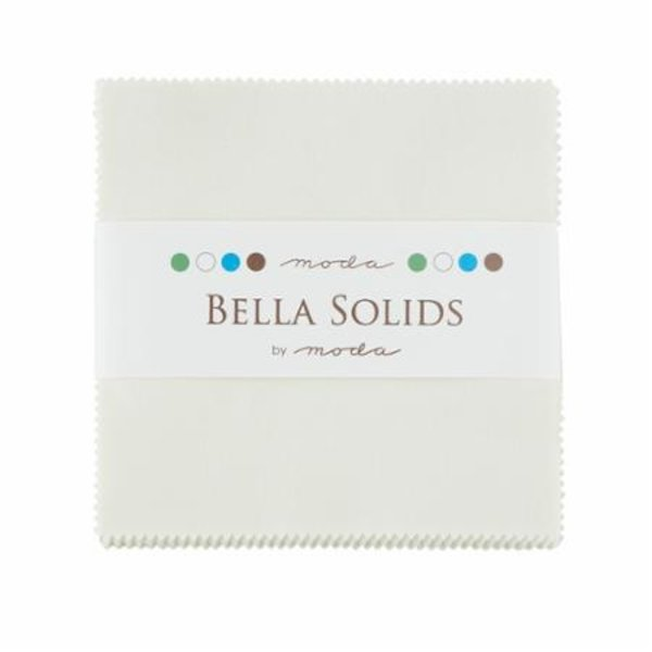 Moda Bella Solids Charm Pack Snow
