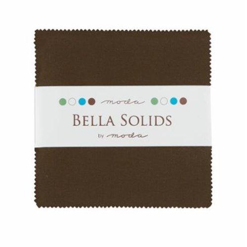 Moda Bella Solids Charm Pack Brown