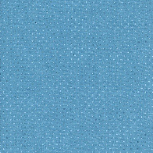 Cotton + Steel Add It Up in Bison Blue