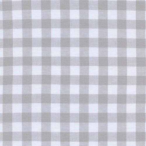 "Cotton + Steel 1/2"" Gingham in Linen (Neutral)"