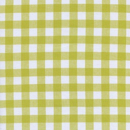 "Cotton + Steel 1/2"" Gingham in Citron"