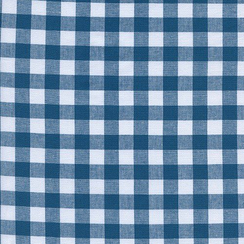 "Cotton + Steel 1/2"" Gingham in Teal"
