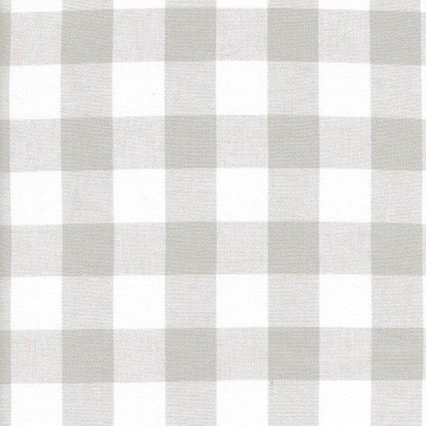 "Cotton + Steel 1"" Gingham in Linen (neutral)"