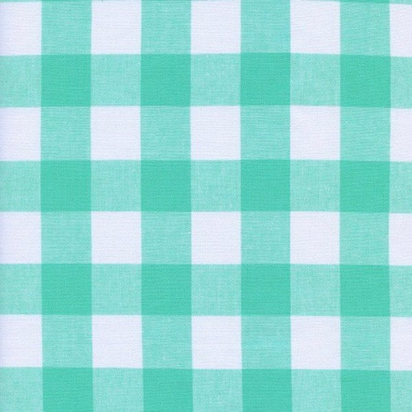 """Cotton + Steel 1"""" Gingham in Mint Chip"""