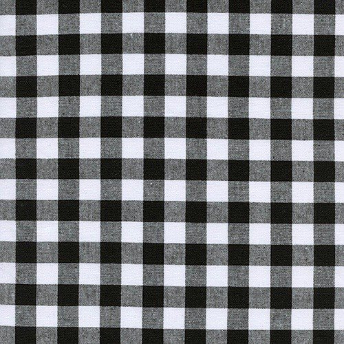 "Cotton + Steel 1/2"" Gingham in Black"