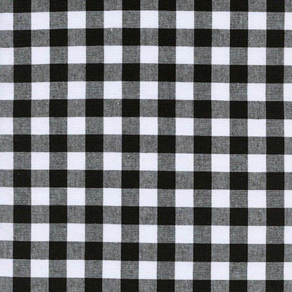"Cotton + Steel 1/2"" Gingham in Black"