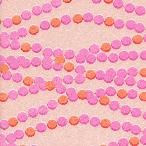 Cotton + Steel Candy Necklace in Pink