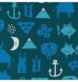 Cotton + Steel Adventure in Blue