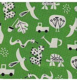 Cotton + Steel Flourish in Green