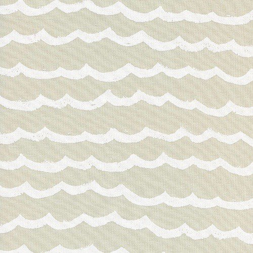Cotton + Steel Waves in Sand Dollar