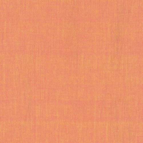 Studio e Peppered Cottons in Atomic Tangerine