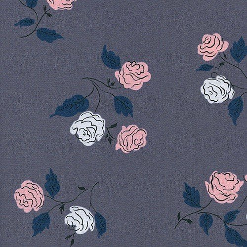 Cotton + Steel Roses in Shadow