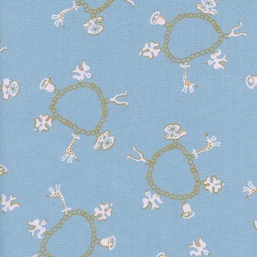 Cotton + Steel Charm Bracelets in Lake