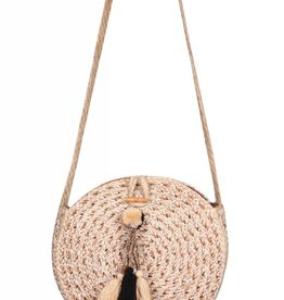 Jute Cross Body Bag