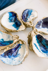 The Ocean Painted Oyster Dish