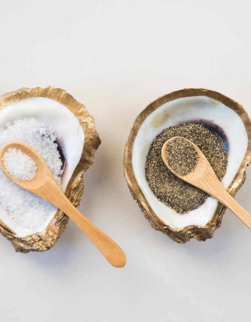 Grit & Grace Salt & Pepper | Oyster Dish