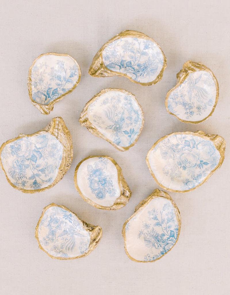 Decoupage Oyster Dish | Tea Revelry