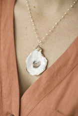 Petite Oyster Necklace
