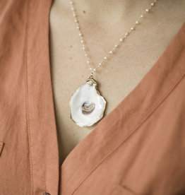 Grit & Grace Petite Oyster Necklace