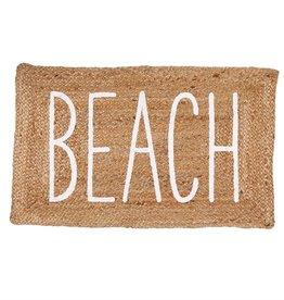 Jute Beach Mat