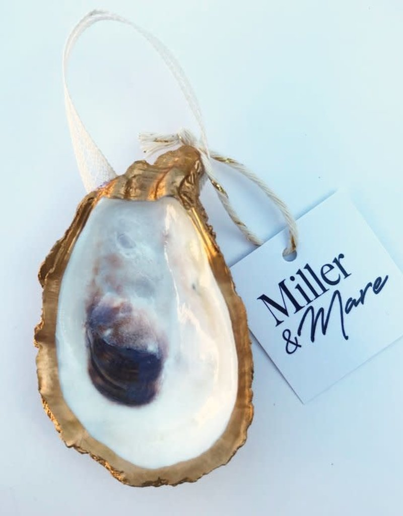 Miller & Mare Oyster Ornament