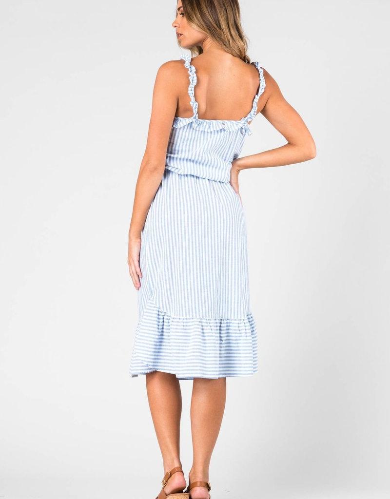 Waterfall Midi Dress