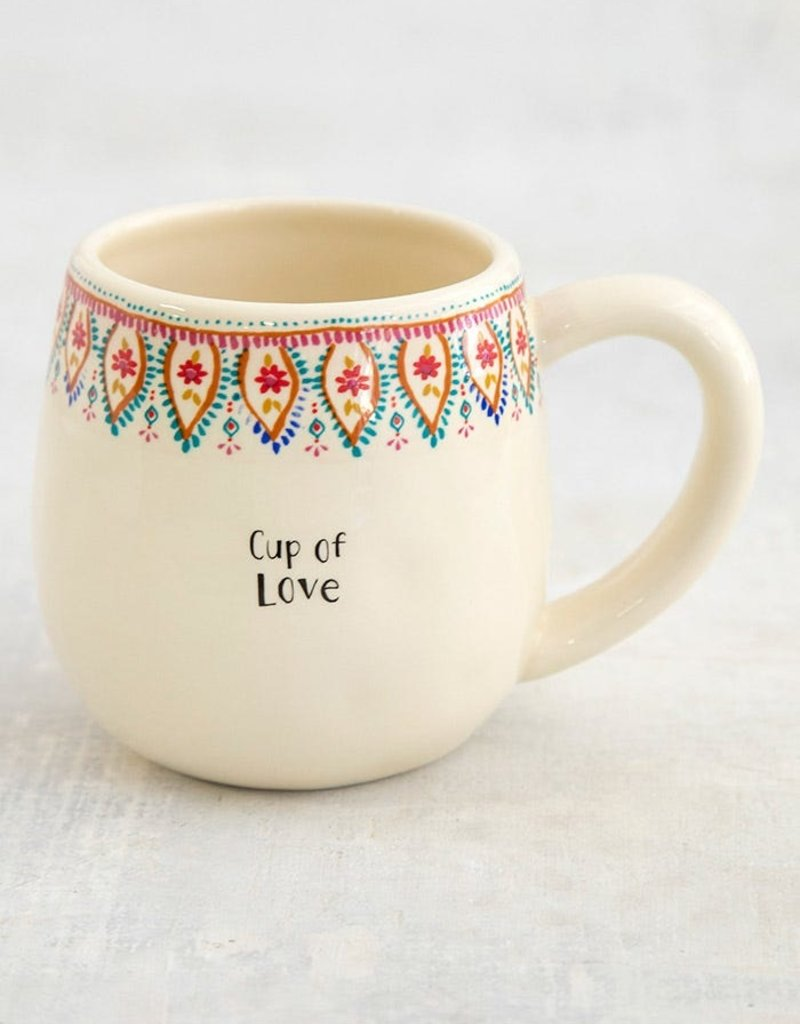 Natural Life Border Mug |