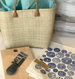 LBI Board, Cheese Knife & Tea Towel Gift Basket