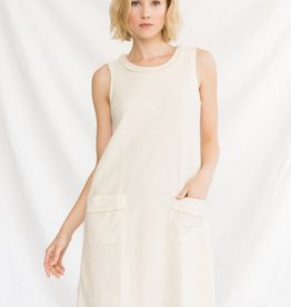 Boucle Terry Shift Dress