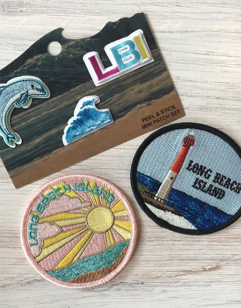 A+B Emblem Peel-n-Stick LBI Patches