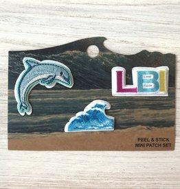 A+B Emblem Peel-n-Stick LBI Patches