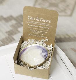 Grit & Grace Original Clam Jewelry Dish