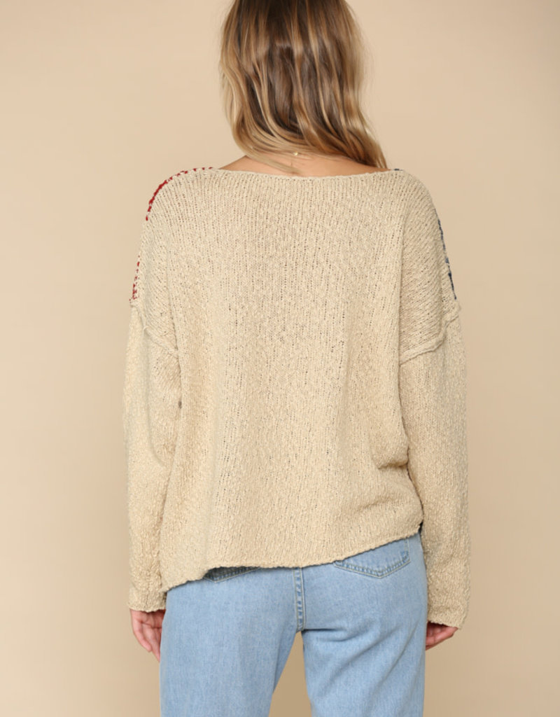 By Together Americana Star Sweater