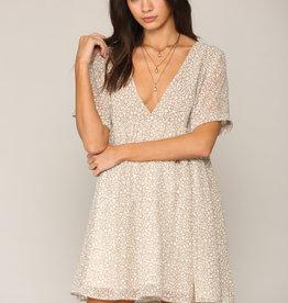 By Together Babydoll Light Leopard Dress