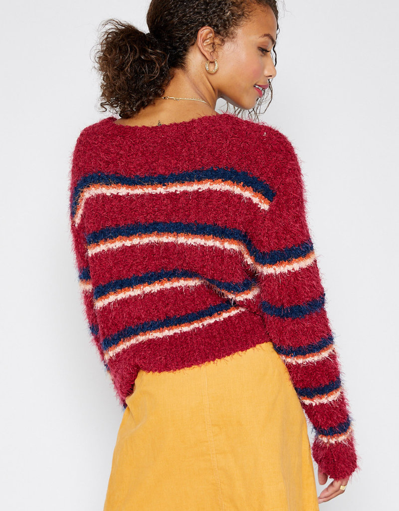 Sadie + Sage No Regrets Stripe Sweater