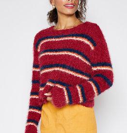Sadie + Sage No Regrets Stripe Sweater
