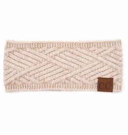 Judson & Co. Criss-Cross Knit Pattern Head Wrap