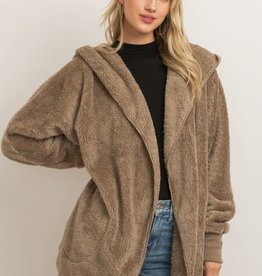 Hem & Thread Fuzzy Bear Coat