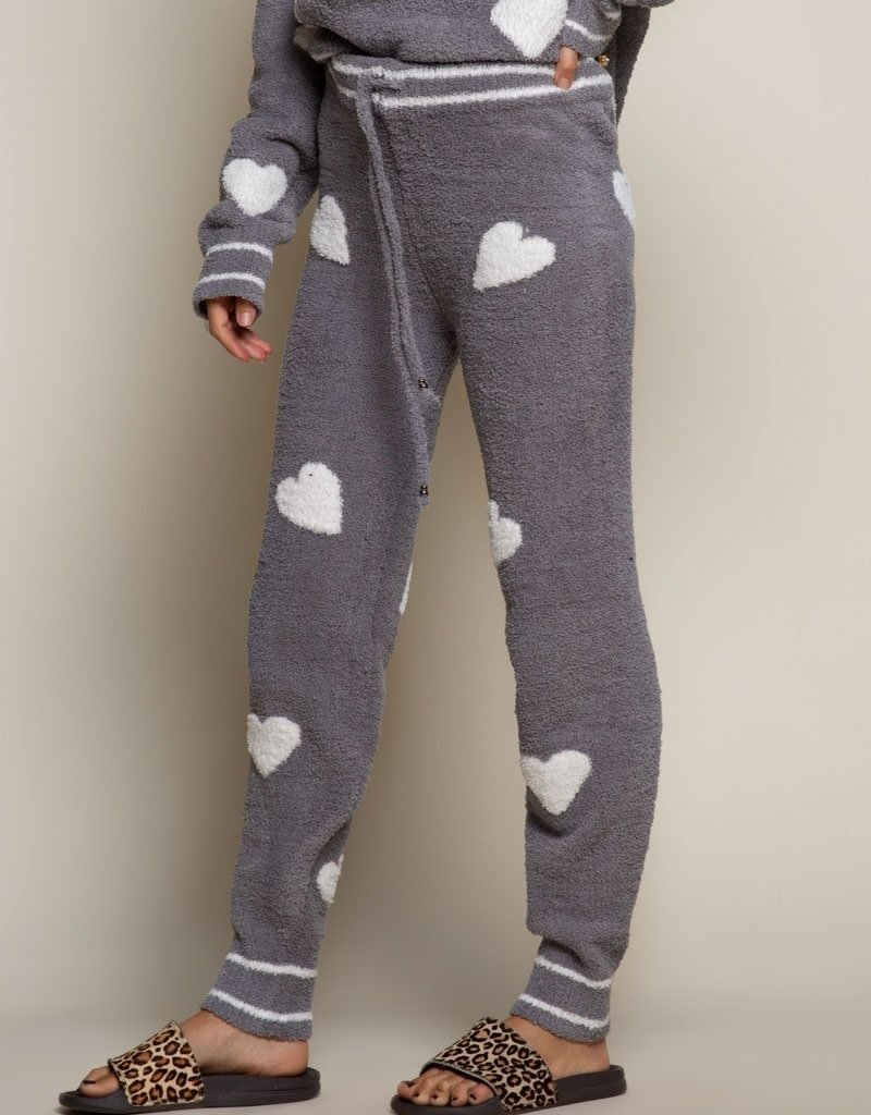 POL Clothing Feel Loved Berber Fleece Jogger
